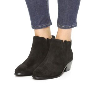New Joie Barlow ankle suede bootie size 6.5 /36.5
